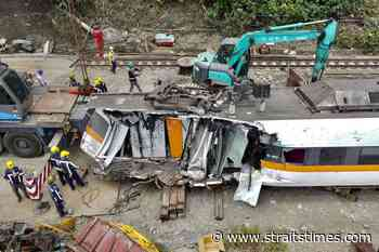 Most of moments before train crash in Taiwan reconstructed - The Straits Times
