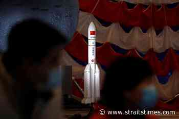 China begins construction of its fifth rocket launch site - The Straits Times