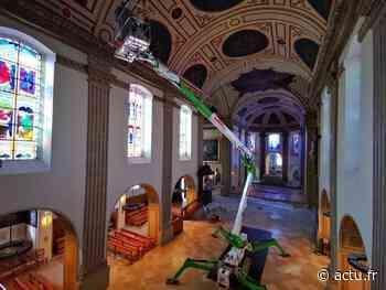 Fontainebleau. L'impressionnante rénovation de l'église Saint-Louis est terminée - actu.fr