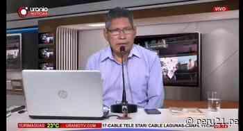 Yurimaguas: Conductor de TV intentó cobrar a equipo de prensa por entrevista a Verónika Mendoza, pero oferta fue rechazada   VIDEO - Diario Perú21