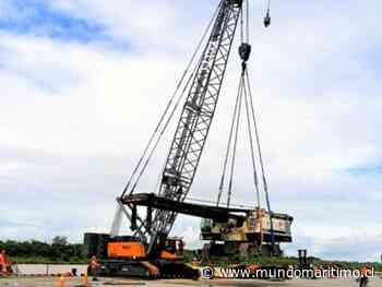 Puerto de Yurimaguas de Perú facilita transporte de grúa de 232,19 toneladas - MundoMaritimo.cl
