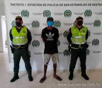 Por concierto para delinquir agravado cae un sujeto en San Estanislao - El Universal - Colombia