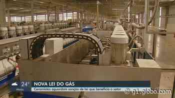 Ceramistas de Santa Gertrudes estão ansiosos pela sanção presidencial do novo marco do gás - G1