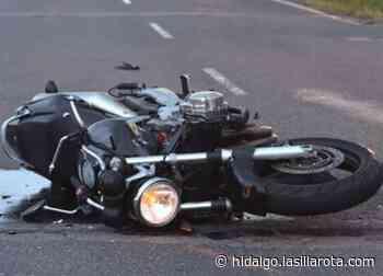 Atropellan a mujer motociclista en Mixquiahuala; sale ilesa - La Silla Rota