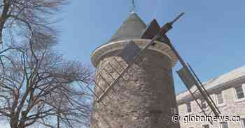 Future of iconic Pointe-Claire windmill up in the air, unlike all of its blades - Globalnews.ca