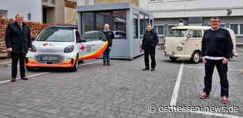 Direkt in der Innenstadt: DRK-Bürger-Testzentrum am Hotel Platzhirsch eröffnet - Osthessen News