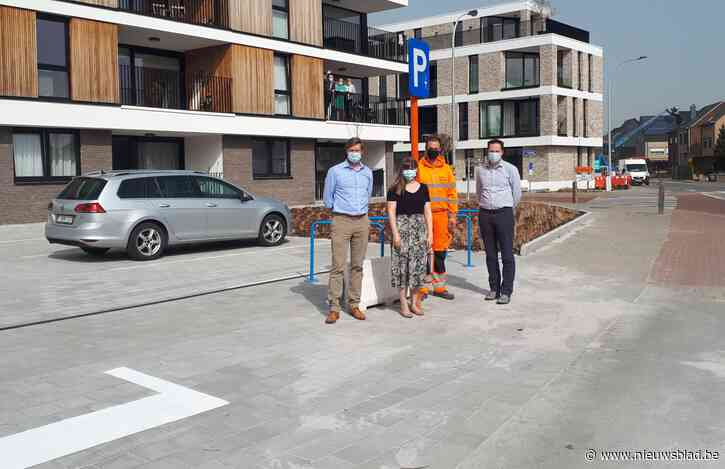 Nieuwe openbare parking op hoek Mieregemstraat-Oudstrijdersstraat