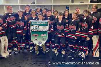 Glace Bay Miners win Under-13 'A' Cape Breton Cup - TheChronicleHerald.ca