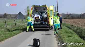 Motorrijder zwaargewond na ongeval in Aaigem bij Erpe-Mere - TV Oost