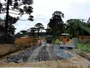 Imbituva avalia demandas para reformar estradas rurais | A Rede - Aconteceu. Tá na aRede! - ARede
