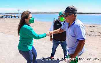 Armida Castro Guzmán visita Puerto Adolfo López Mateo - El Sudcaliforniano