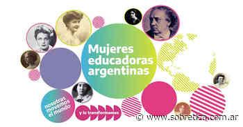 La BNM lanzó el portal Mujeres Educadoras Argentinas - Sobre Tiza