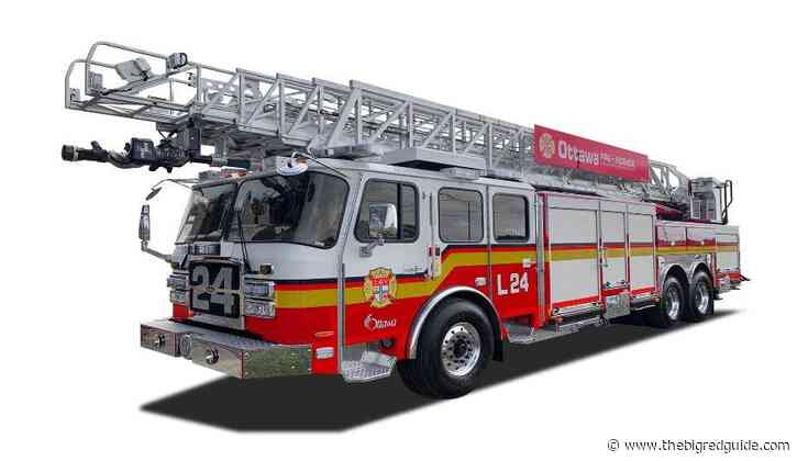 E-ONE Delivers CR 137 Aerial To Ottawa Fire Department