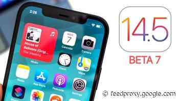 Here is another look at iOS 14.5 beta 7