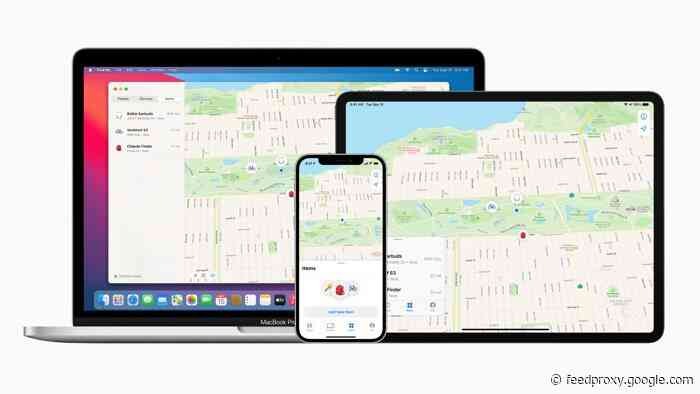 Apple launches Find My network for third party tracking devices