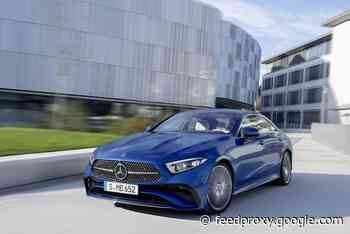 New Mercedes CLS unveiled