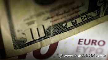 Euro/Dollar: Leichte Gegenbewegung: Der Euro sinkt leicht nach dem Höchststand vom Vorabend