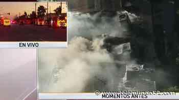 Incendio en apartamentos deja a familias desamparadas en Montebello - Telemundo 52