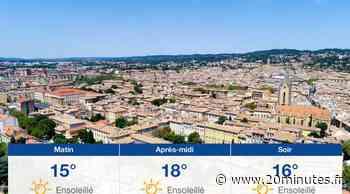 Météo Aix-en-Provence: Prévisions du lundi 29 mars 2021 - 20minutes.fr