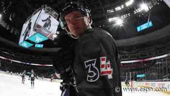 NHL suspends Colorado Avalanche's Jacob MacDonald two games for hit on Minnesota Wild's Ryan Hartman - ESPN
