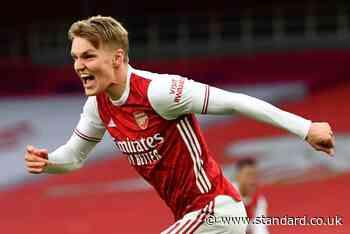 Martin Odegaard a major injury doubt for Arsenal's next two games - Evening Standard