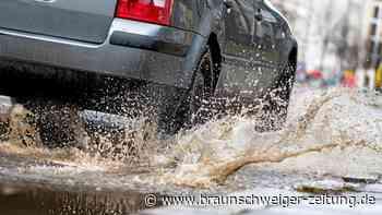 Viel Regen und schwankende Temperaturen in Niedersachsen