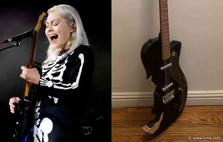 Phoebe Bridgers' smashed 'Saturday Night Live' guitar is up for auction