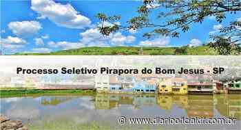 Processo Seletivo Pirapora do Bom Jesus – SP - DIARIO OFICIAL DF - DODF CONCURSOS