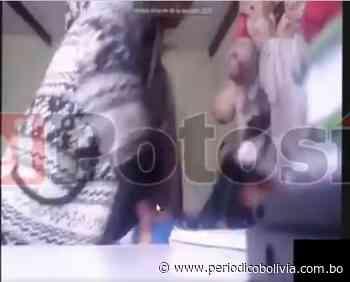 Potosí: Denuncian a una madre que agredió físicamente a su hija en plena clase virtual - Periódico Bolivia