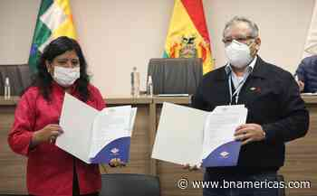 YPFB firma convenio con ECEBOL de Potosí par... - BNamericas