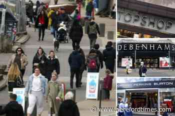 The high street stores you will not be able to visit on April 12