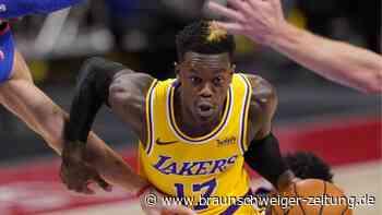 """NBA: Schröder über Lakers-Vertrag: """"In einer super Situation"""""""