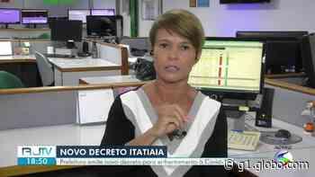 Itatiaia publica novo decreto para frear avanço da Covid-19 - G1