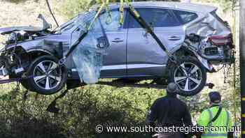 Woods was speeding before crash: sheriff - South Coast Register