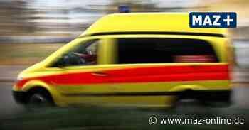 Unfall in Falkensee: Auto stößt mit Rettungswagen zusammen - Märkische Allgemeine Zeitung