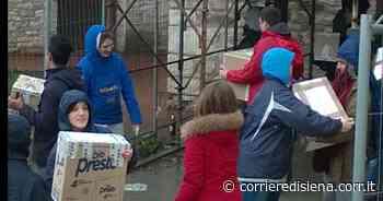 Siena, raccolta nelle contrade per chi ha bisogno - Corriere di Siena