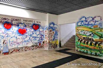 Street Art nel sottopasso della stazione ferroviaria di Siena - 03.04.21 - SienaFree.it