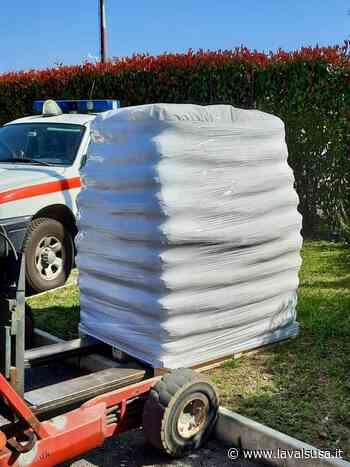 SuccessivoSettantacinque sacchi di pellet in dono alla Croce Rossa di Giaveno - lavalsusa.it