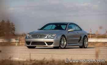 Mercedes-Benz CLK DTM AMG. Uno de los 100 que hay sale a subasta - Motor16