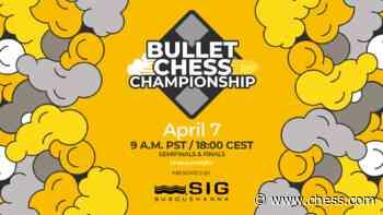 Firouzja, Nakamura, Naroditsky, Tang In Semis 2021 Bullet Chess Championship Presented By SIG - Chess.com