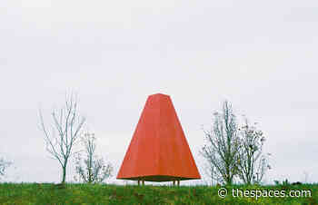 This tiny French chess pavilion pops out of the landscape like a toadstool - The Spaces