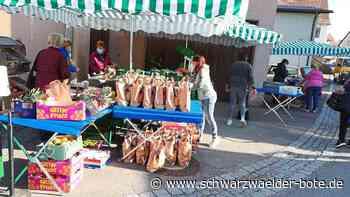Starzach: Neuer Marktstand kommt gut an - Rottenburg & Umgebung - Schwarzwälder Bote