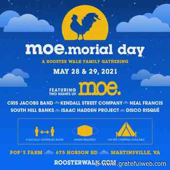 moe. playing TWO nights at Pop's Farm! - Grateful Web