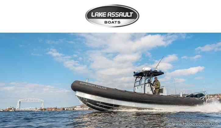 Lake Assault Boats Places Patrol Craft Into Service With The Superior, Wisconsin Police Department