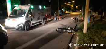 Choque de motos en el barrio San Clemente - RADIO FÉNIX 95.1