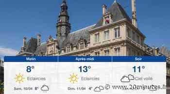 Météo Reims: Prévisions du vendredi 9 avril 2021 - 20minutes.fr