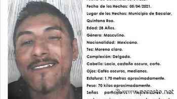 Desaparece un joven de 28 años en el Pueblo Mágico de Bacalar - PorEsto
