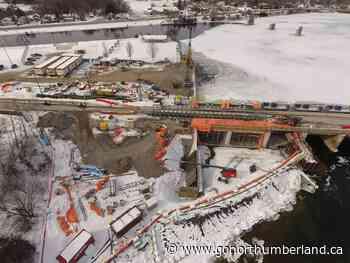 Ranney Falls Dam bridge in Campbellford will be temporarily closed April 8th-13th - 93.3 myFM