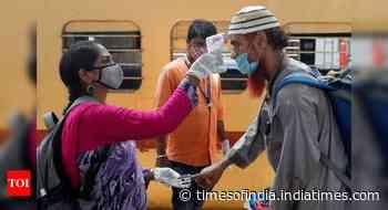 Coronavirus live updates: Sale of platform tickets stopped at 6 Mumbai stations - Times of India