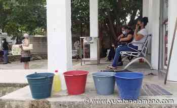 Issste de Playa del Carmen, sin agua desde hace más de dos semanas - Yucatán a la mano